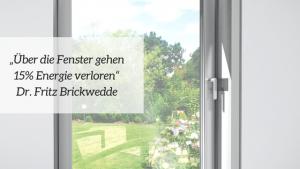 Energiesparen mit neuen Fenster